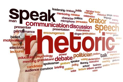 Rhetoric Word Cloud by lculig - 85782622